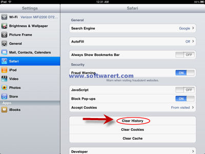 View Browsing History on iPhone, iPad, iPod touch from Safari