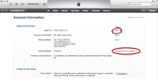 How to change apple id step by step