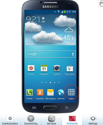 Try Samsung Galaxy S4 Online Before You Buy with Samsung Galaxy S4