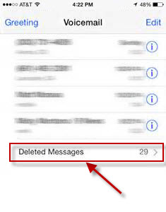 how to delete your voicemail message