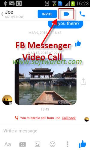 facebook video call er software free