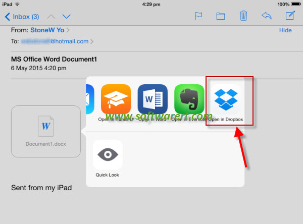 how to download dropbox to iphone