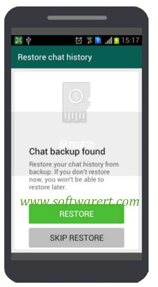 How to backup whatsapp chat history from iphone to android
