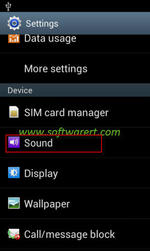 how to change storage device ringtone s7