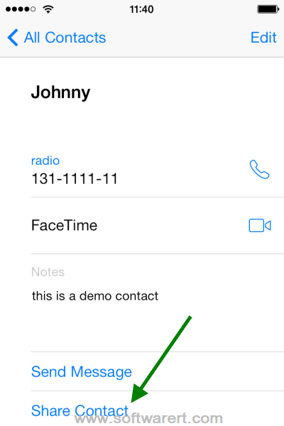 how to move contacts between iphones