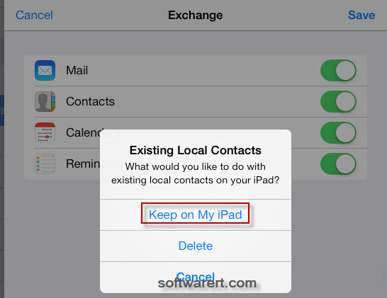 how to set up my email account on my ipad