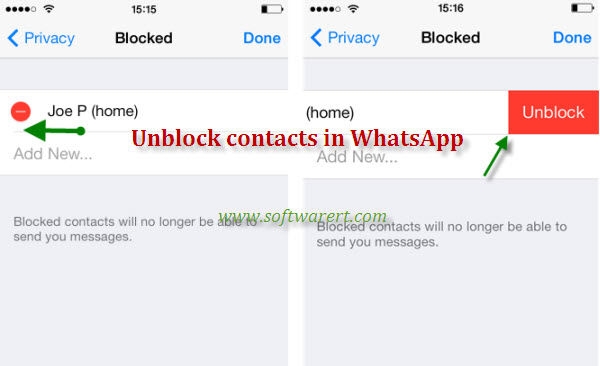 What Happens When You Unblock Someone On Iphone