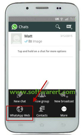 how to connect whatsapp from android phone to pc