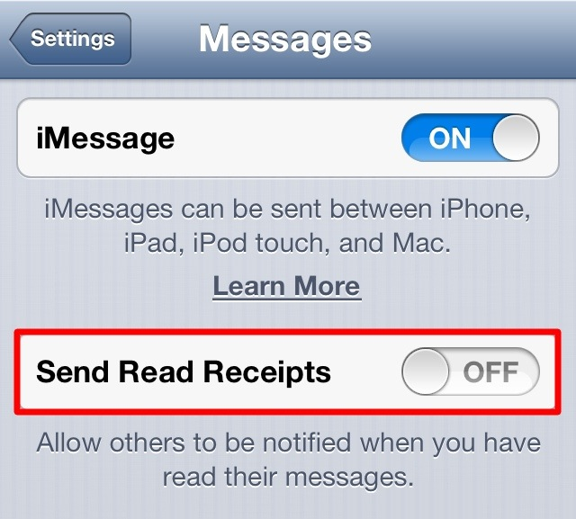 read messages on iphone disable imessage read receipts on iphone 3469