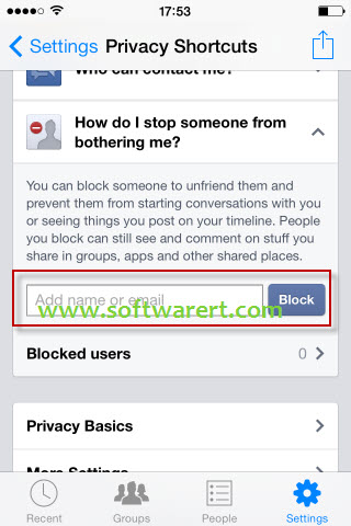 how to unblock someone on iphone block on messenger 1429