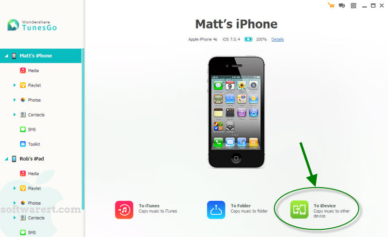 Copy Music To Another Iphone Ipad Ipod