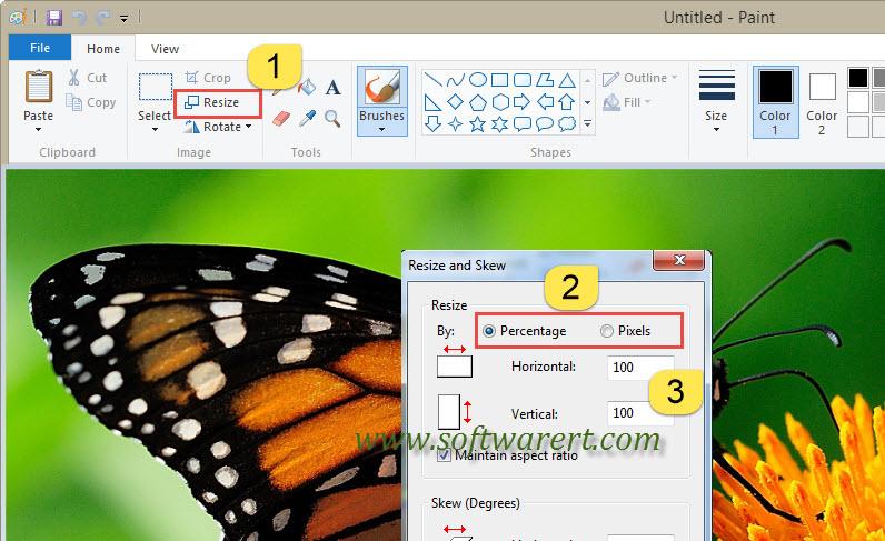 Resize Photos in Windows 10
