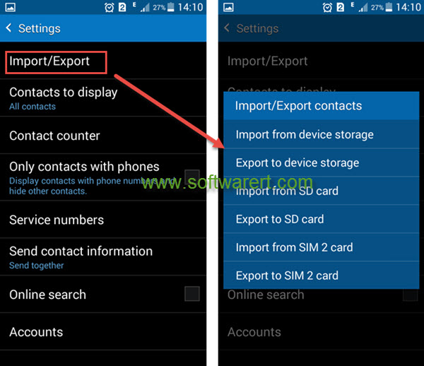 Transfer Contacts Android To IPhone Using SHAREit