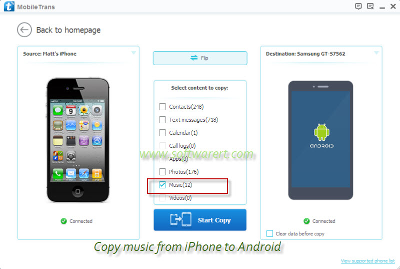 how to transfer music from iphone to iphone how to transfer from iphone to android 1664