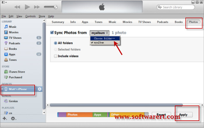 how to sync iphone to ipad without computer transfer photos from computer to with or without itunes 8083