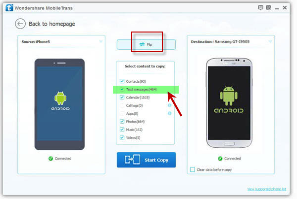 how to get text messages on both iphone and ipad transfer text messages from htc to samsung 21513