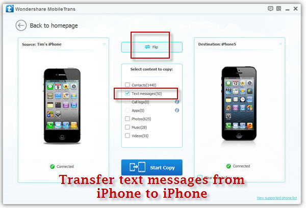 transfer notes from iphone to android transfer sms from iphone to iphone 19491